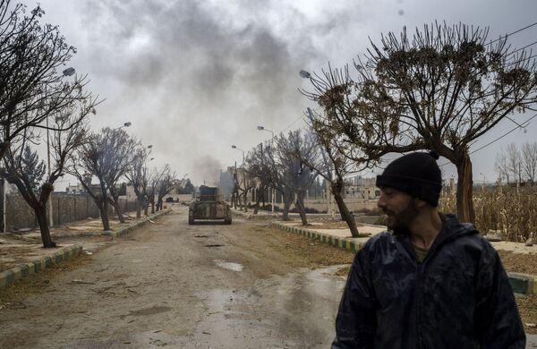Armia syryjska wzięła pod kontrolę lotnisko wojskowe Marj al-Sultan - Sputnik Polska