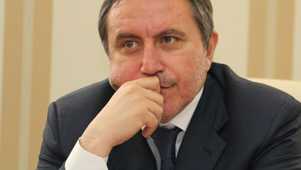 Jeden z organizatorów blokady Krymu Lenur Islamow - Sputnik Polska