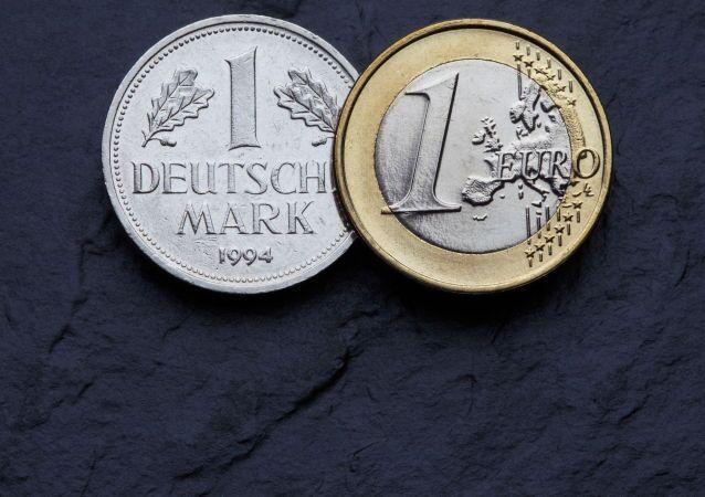 Niemiecka marka i euro