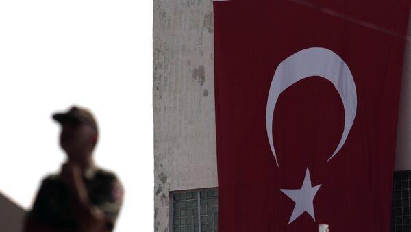 Flaga Turcji - Sputnik Polska