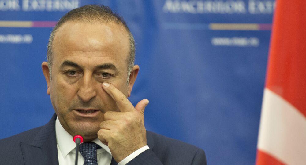 Minister spraw zagranicznych Turcji Mevlut Cavusoglu.