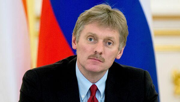 Rzecznik prasowy prezydenta Rosji Dmitrij Pieskow na Kremlu - Sputnik Polska