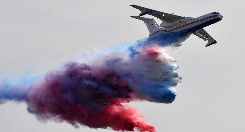 Rosyjski samolot-amfibia Be-200