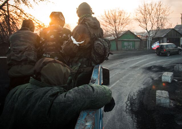 Powstańcy DRL w obwodzie donieckim