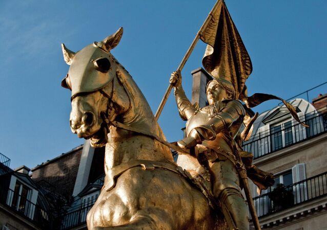 Pomnik Joanny d'Arc