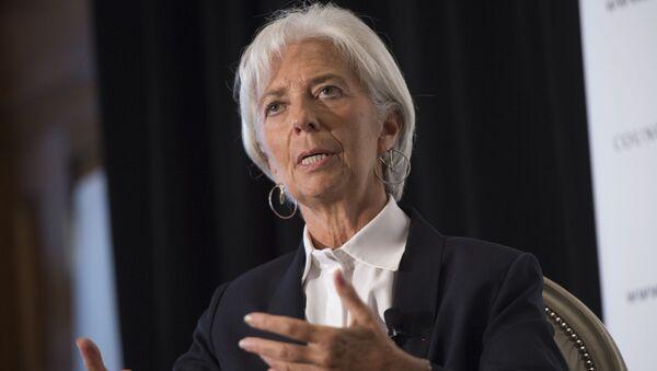 Dyrektor Zarządzający MFW Christine Lagarde - Sputnik Polska