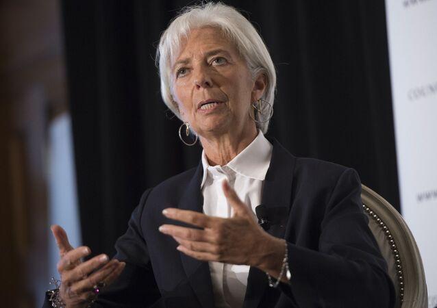 Dyrektor Zarządzający MFW Christine Lagarde