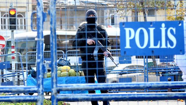 Turecki policjant - Sputnik Polska