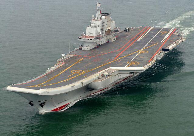 "Chiński lotniskowiec ""Liaoning"