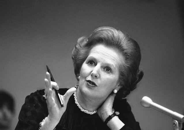 Premier Wielkiej Brytanii Margaret Thatcher
