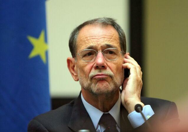 Były sekretarz generalny NATO Javier Solana