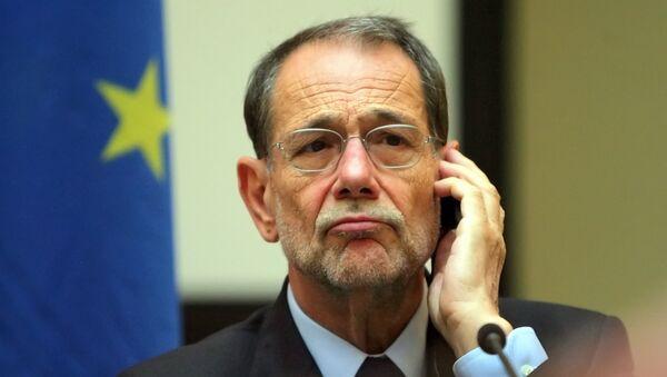 Były sekretarz generalny NATO Javier Solana - Sputnik Polska