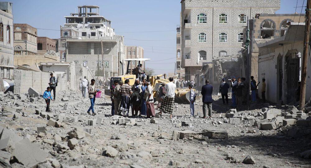 Konflikt w Jemenie. Sana