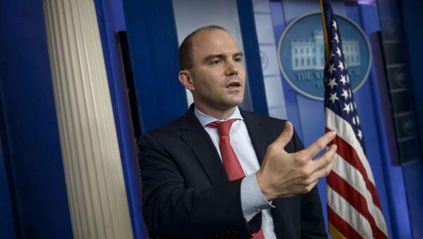Doradca Baracka Obamy ds. bezpieczeństwa Ben Rhodes - Sputnik Polska