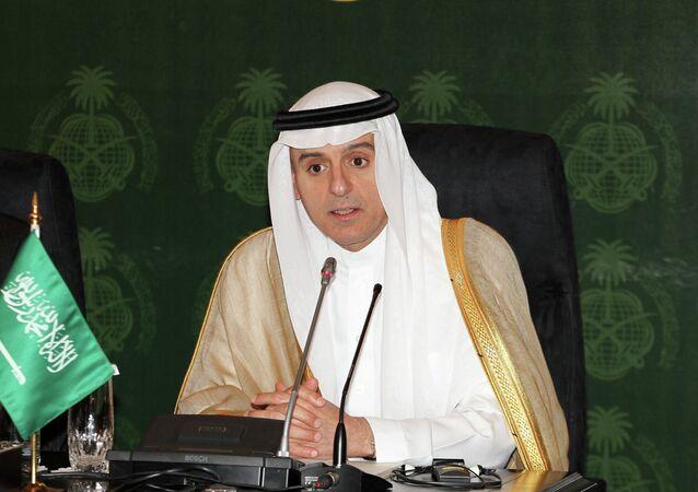 Minister spraw zagranicznych Arabii Saudyjskiej Adil ibn Ahmad ad-Dżubeir
