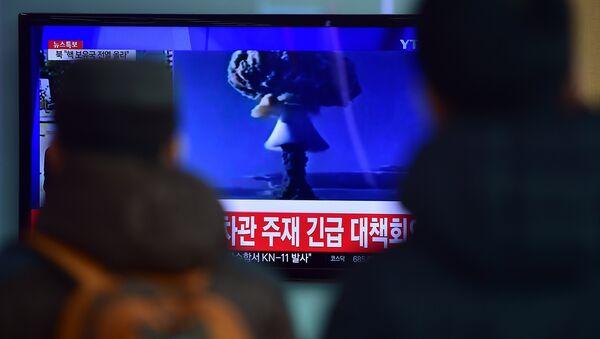 Testy bomby wodorowej w Korei Północnej - Sputnik Polska