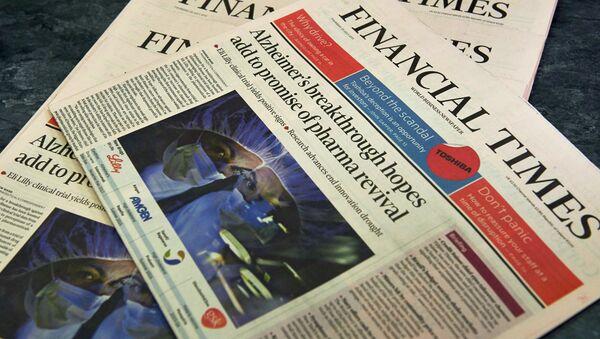 Financial Times - Sputnik Polska