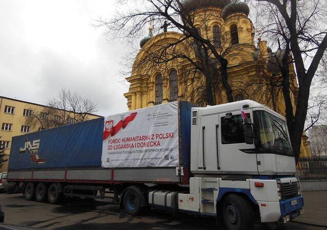 Polska pomoc humanitarna dla Donbasu, zebrana przez Bractwo Prawosławne św. św. Cyryla i Metodego