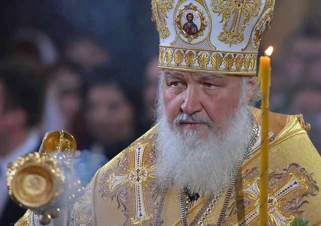 Patriarcha Cyryl odprawia bożonarodzeniowe nabożeństwo w Soborze Chrystusa Zbawiciela