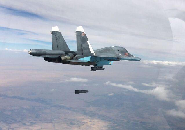Bombowiec Su-34