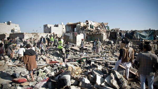 Lotnisko w Sanie, Jemen - Sputnik Polska