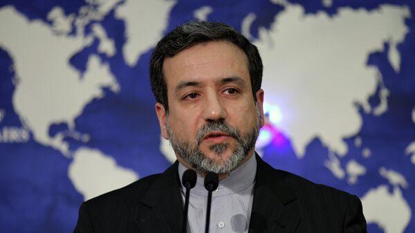 Wiceminister spraw zagranicznych Iranu Abbas Araghchi - Sputnik Polska