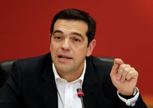 Aleksis Tsipras, premier Grecji