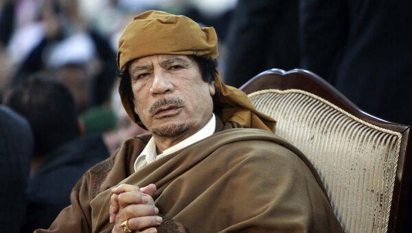 Przywódca Libii Muammar Kadafi - Sputnik Polska