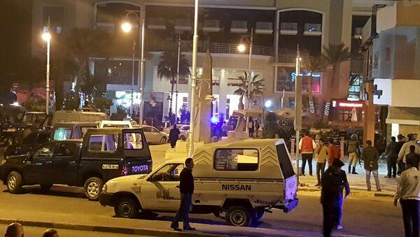 Atak na hotel w Hurghadzie - Sputnik Polska