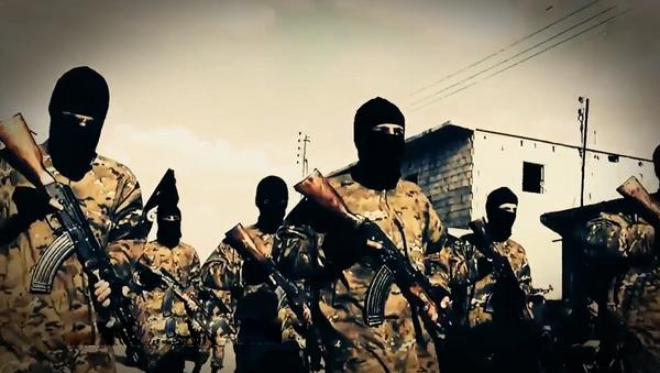 Bojownicy Państwa Islamskiego - Sputnik Polska