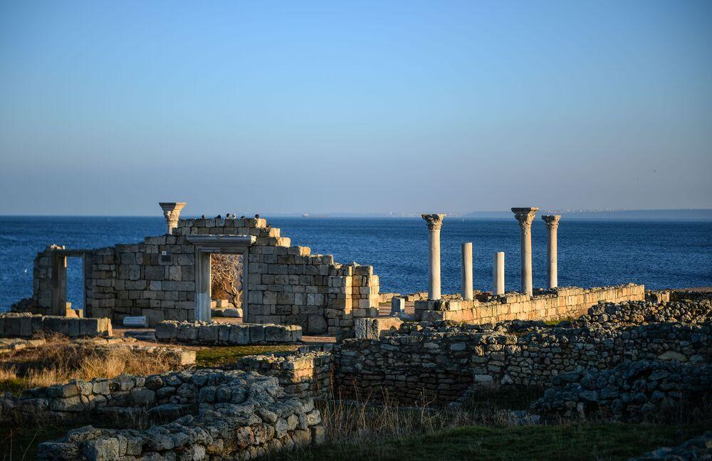 Ruiny Chersonezu Taurydzkiego na Krymie