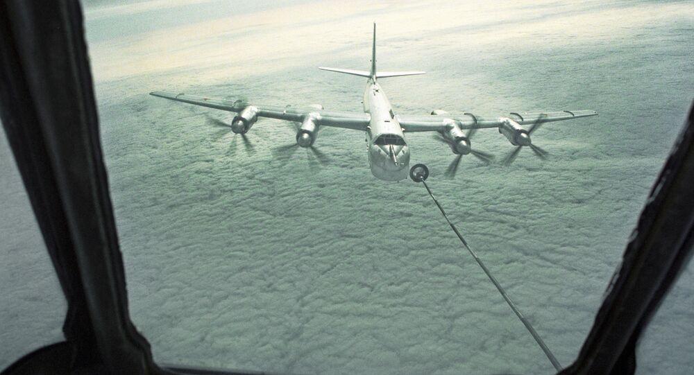 Strategiczny samolot bombowy dalekiego zasięgu Tu-95