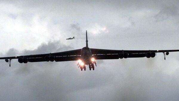 Amerykański bombowiec strategiczny B-52 - Sputnik Polska