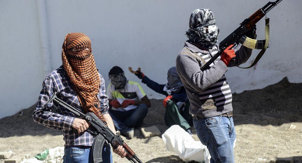 Bojownicy Partii Pracujących Kurdystanu
