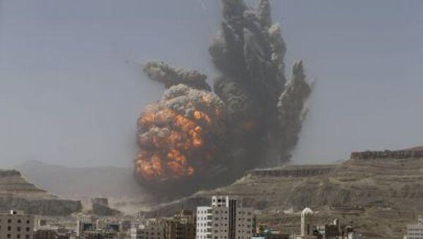 Operacja koalicji arabskiej w Jemenie - Sputnik Polska
