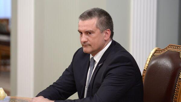 Szef Krymu Siergiej Aksionow - Sputnik Polska