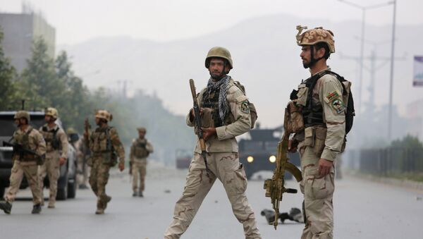 Siły bezpieczeństwa w Afganistanie - Sputnik Polska