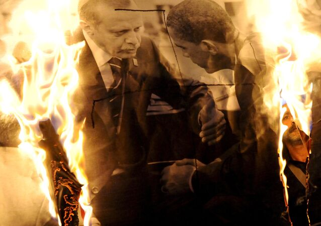 Prezydent Turcji Tayyip Erdogan i prezydent USA Barack Obama