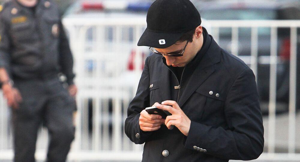 Założyciel sieci społecznościowej Vkontakte Paweł Durow w Moskwie