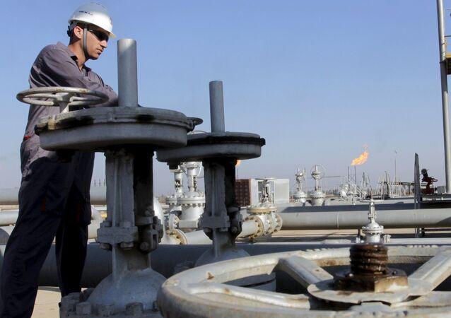 Wydobycie ropy naftowej w Iraku