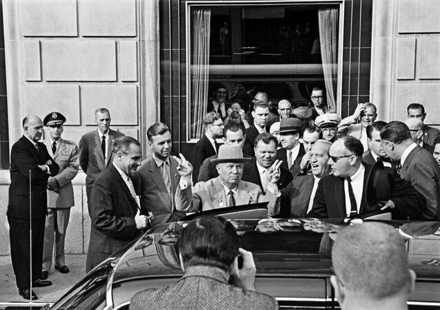 Oficjalna wizyta przewodniczącego Rady ministrów ZSRR Nikity Chruszczowa w USA