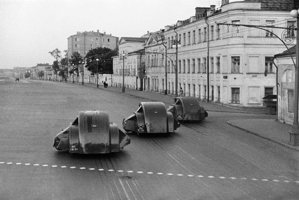 Sprzątanie moskiewskich ulic