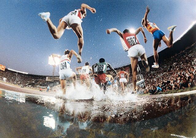 Bieg z przeszkodami na XXII Igrzyskach Olimpijskich w Moskwie
