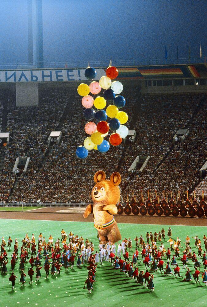 Uroczyste zakończenie XXII letnich Igrzysk Olimpijskich