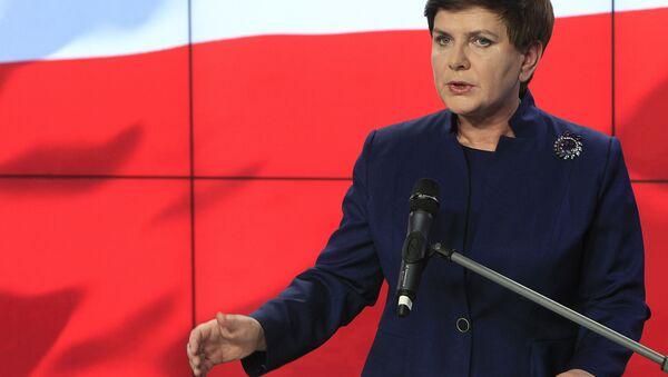 Premier Beata Szydło - Sputnik Polska