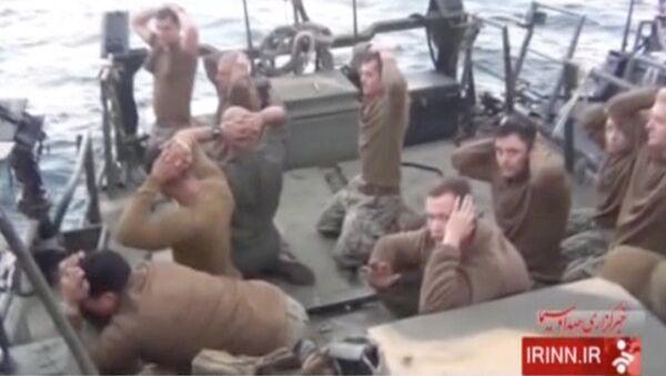 Zatrzymanie amerykańskich wojskowych przez irańskich pograniczników - Sputnik Polska