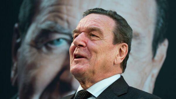 Gerhard Schröder - Sputnik Polska