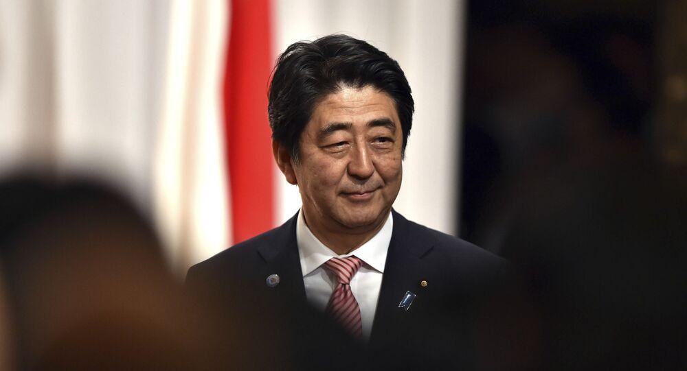 Premier Japonii Shinzo Abe