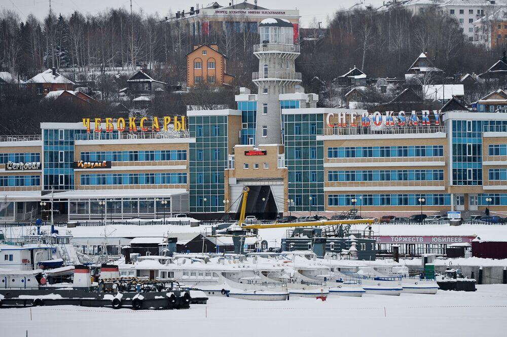 Port rzeczny w Czeboksarach