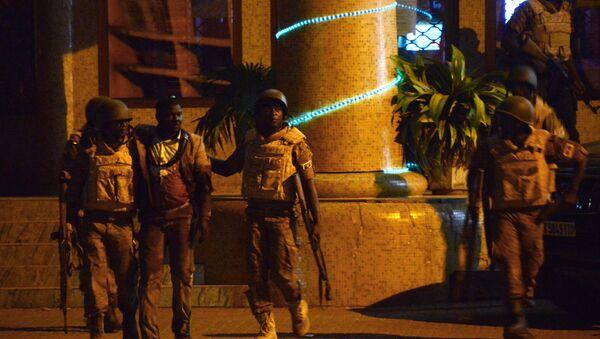 Policja w Burkina Faso - Sputnik Polska